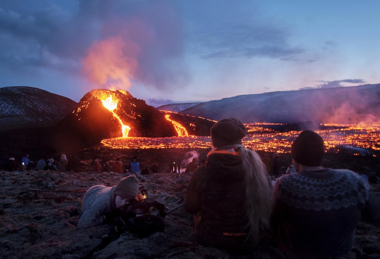 izland-vulkán-Geldingadalir