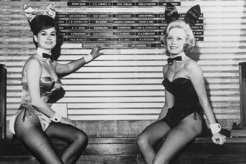 Kegyetlen elvárásoknak kellett megfelelniük a Playboy-nyusziknak a '60-as években: az evést is korlátozták