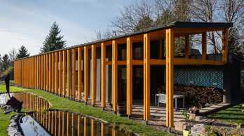 Ilyen egy trendi ház, ami ráadásul magyar