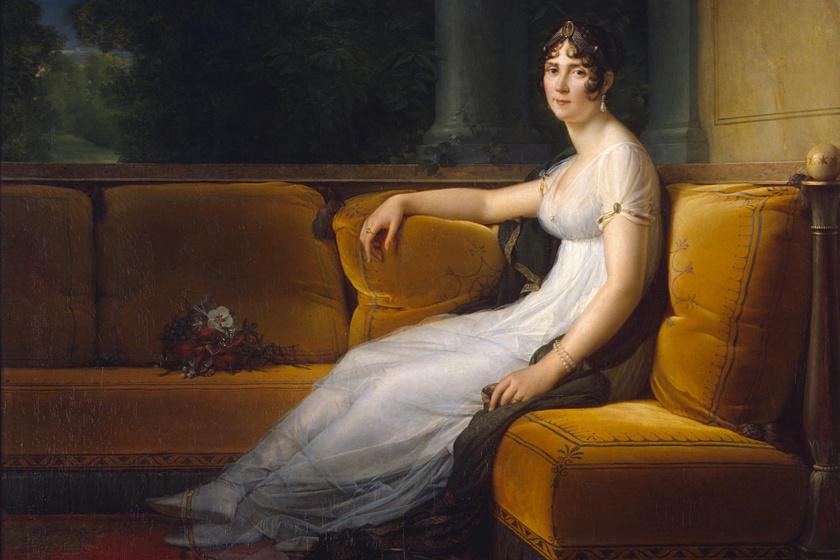 François Gérard: Josephine de Beauharnais portréja.