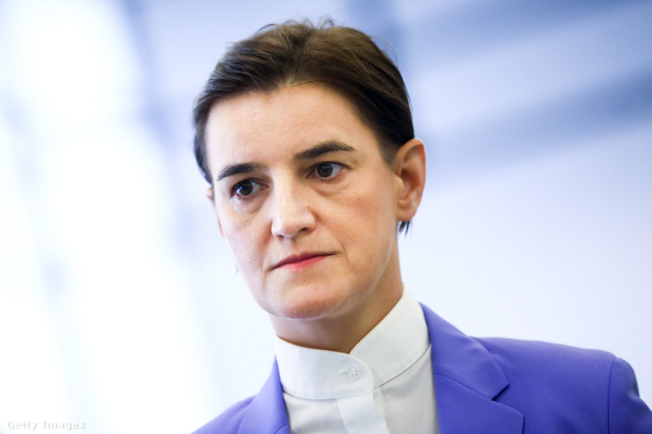 Ana Brnabic szerb miniszterelnök
