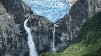 Vészesen gyorsan olvadnak a gleccserek