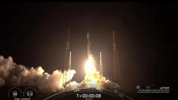 Internet az űrből: a SpaceX fellőtte a Starlinket