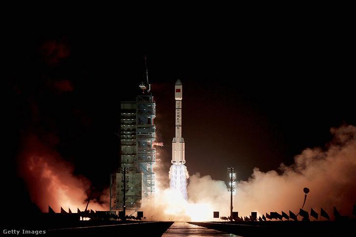 Az első kínai űrállomás a Tiangong-1 indítása 2011-ben