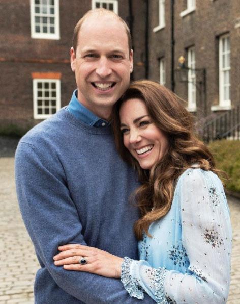 A palota friss felvételeket osztott meg a hercegi párról a házassági évfordulójuk alkalmából.