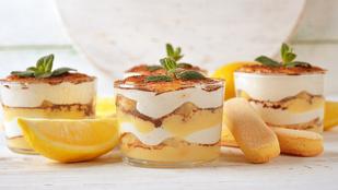 Jönnek a meleg napok, rétegezz egy klassz, citrusos-tejfölös desszertet!