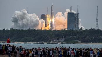 Elindult a kínai űrállomás főmodulja
