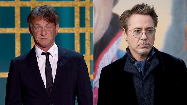 Sean Penn és Robert Downey Jr.A két színész a Santa Monica High Schoolban járt egy osztályba, amelybe egyébként Charlie Seen és Rob Lowe is