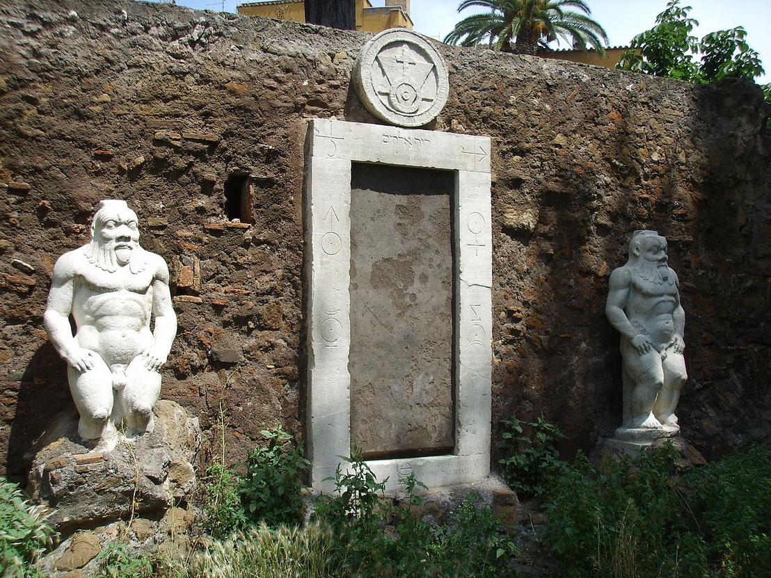 Porta Alchemica, Rómában