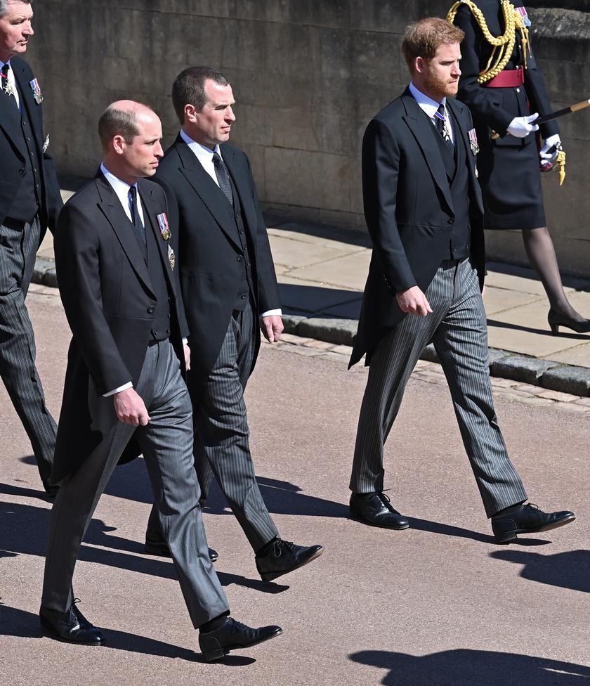 Harry herceg a temetés után beszélt a családjával.