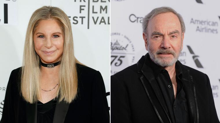 Barbra Streisand és Neil DiamondA két énekes a brooklyni Erasmus Hall High Schoolba járt, amely azóta már megszűnt önálló oktatási intézményként. A fénykorában azonban mindketten az iskolai kórusban énekeltek. Egy duettet is felvettek, ez a You Don't Send Me Flowers, amelynek keletkezéstörténetéről itt olvashat részleteket.