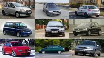 Az Év Autója-díj dobogósai mint használt autók XIII. – 2000-2002.