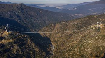 Portugáliában átadták a világ leghosszabb függőhídját