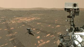 Mars-helikopter: nem sikerült a negyedik felszállás