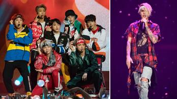 Justin Bieber összeáll a BTS dél-koreai szupersztárjaival