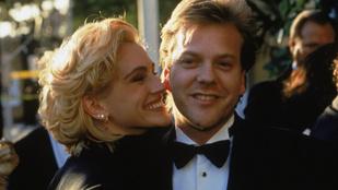 Kiefer Sutherland megbocsátott a legjobb barátjának, amiért lecsapta a kezéről Julia Robertset