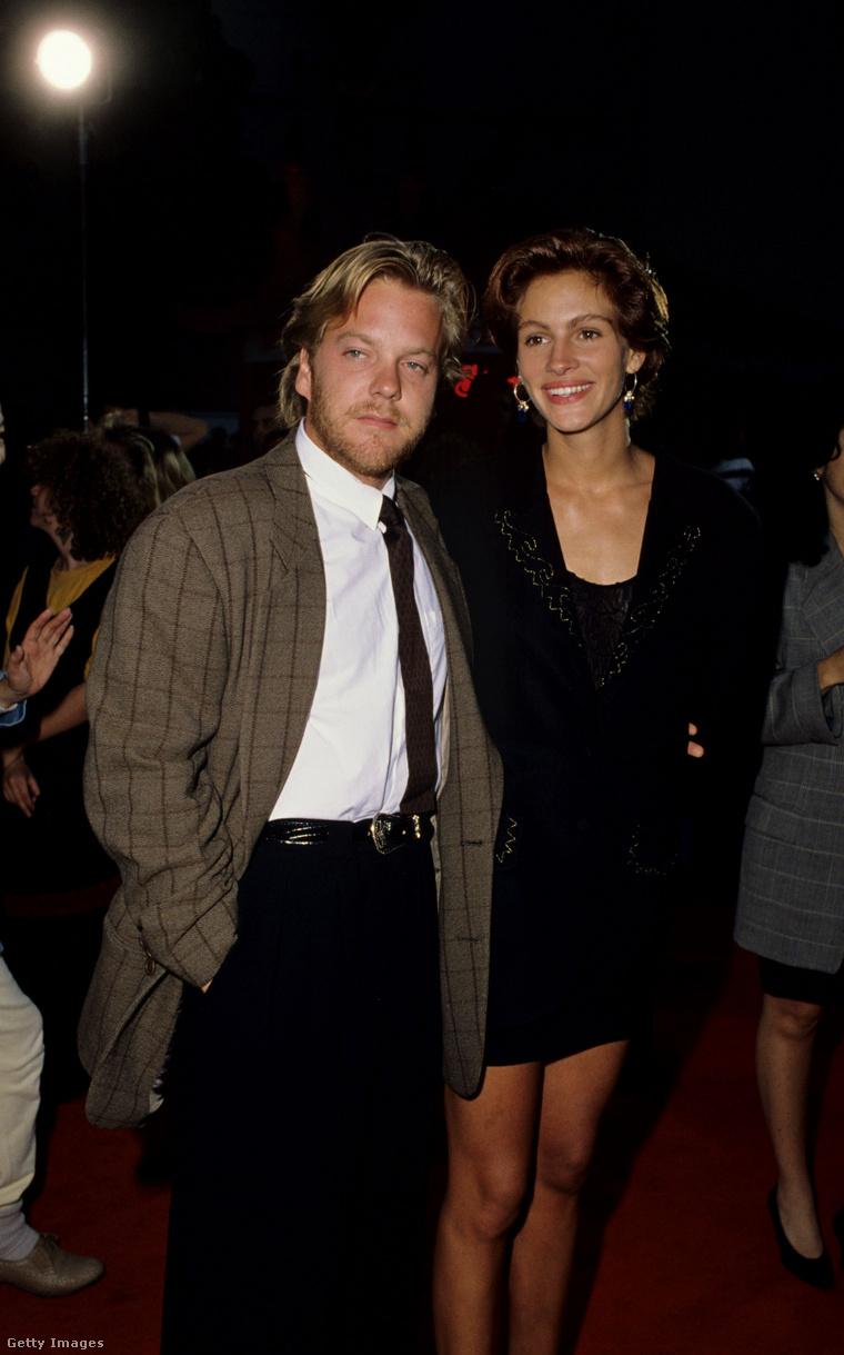 A pár a Flatliners premierjén, 1991-ben