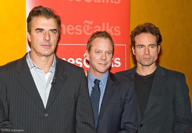 Chris Noth, Kiefer Sutherland és Jason Patric 2011-ben, egy premieren
