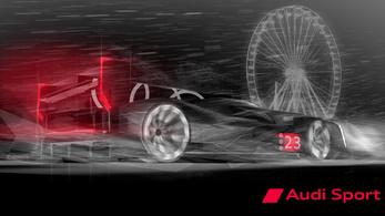 Először mutatnak valamit az új Le Mans-i Audiról