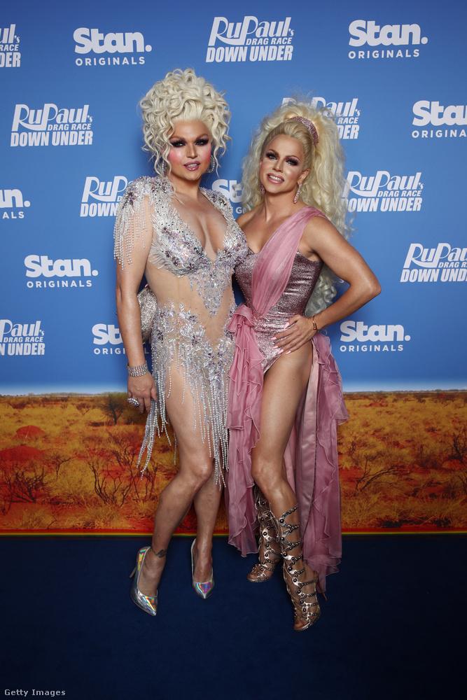 És még két drag queennel búcsúzunk, ők Vanity Faire és Courtney Act
