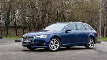 Használtteszt: Audi A4 (B9) Avant 2.0 TDI S tronic - 2017.