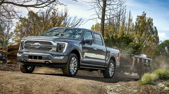 A Ford beépített mérleget kínál a legnépszerűbb pickupjához