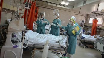 Szerbiában egyre kevesebben szorulnak lélegeztetőgépre