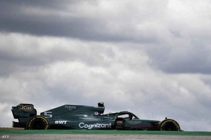 Vettel a 2020-as Brit Nagydíj után jutott be újra a Q3-ba