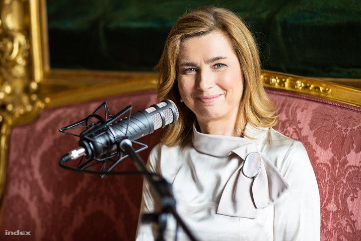 A Sándor-palota rövid időre az Index podcaststúdiójává alakult. A vendég: Herczegh Anita