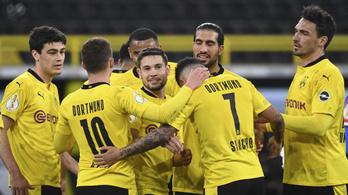 A Dortmund lesz Gulácsiék ellenfele a Német Kupa döntőjében