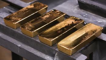 A járvány alatt elkapkodták az aranyrudakat