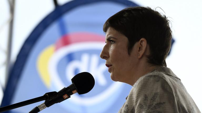 Dobrev Klára a Demokratikus Koalíció miniszterelnök-jelöltje