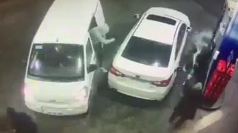 Ezért ne próbálj kirabolni olyan embert, akinek tankoló pisztoly van a kezében