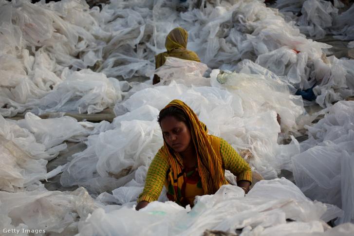 Polietilén-újrahasznosítás Bangladesben
