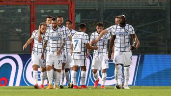 Négy fordulóval a vége előtt bajnok lett az Inter