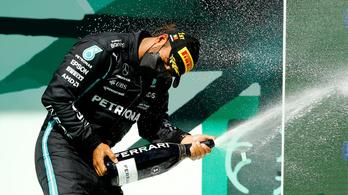 Lewis Hamilton nyert Portimaóban a stratégák versenyén