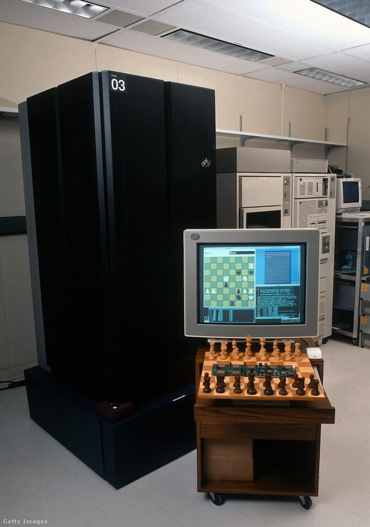 A monumentális Deep Blue szuperszámítógép