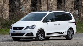 Használt autó: Seat Alhambra TDI DSG (2017)