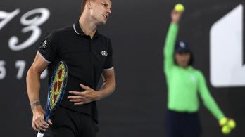 Fucsovics Márton hat helyet csúszott a világranglistán