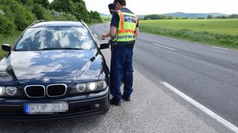 Péntek óta 14 ittas sofőrt fogtak Veszprém megyében