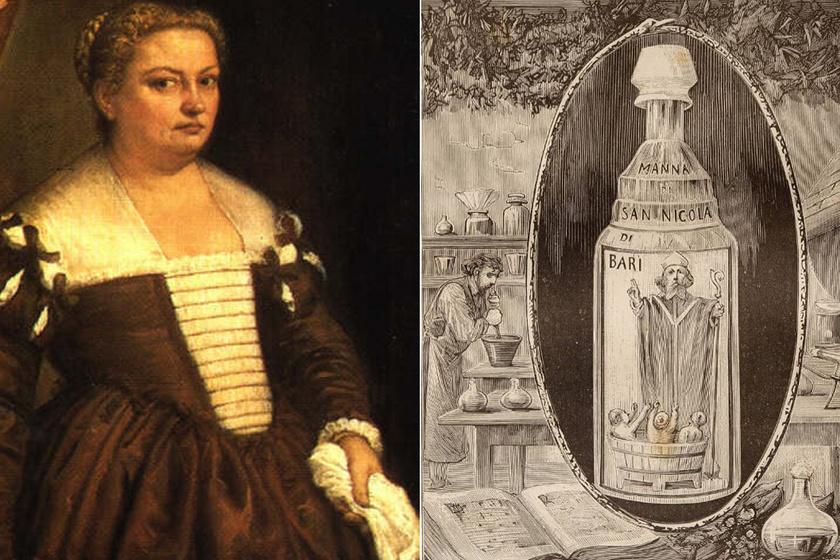 A halálos sminkmárka, amivel férjeiket ölhették meg a nők: Giulia Tofana húsz évig árulta a készítményeit