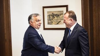 Orbán találkozott a cselgáncsszövetség elnökével a budapesti vb előtt