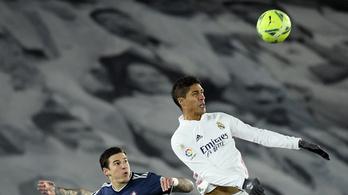 Varane nem játszhat a Chelsea elleni visszavágón