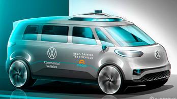 Robottaxi készül a VW kisbuszából