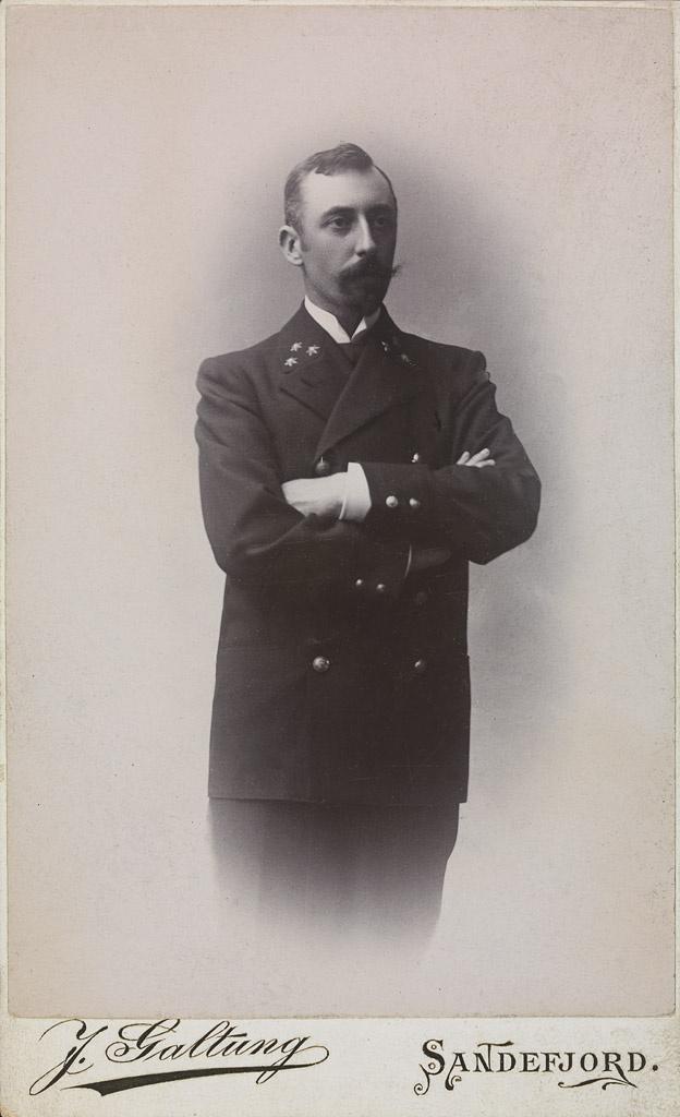 Adrien de Gerlache, az expedíció vezetője.
