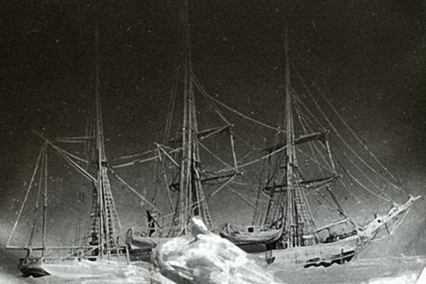 1899. január elsején készült fotó a Belgicáról.