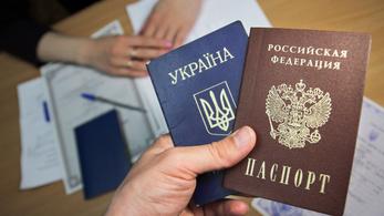 Tömegesen adnak orosz állampolgárságot a szakadár ukrán területeken