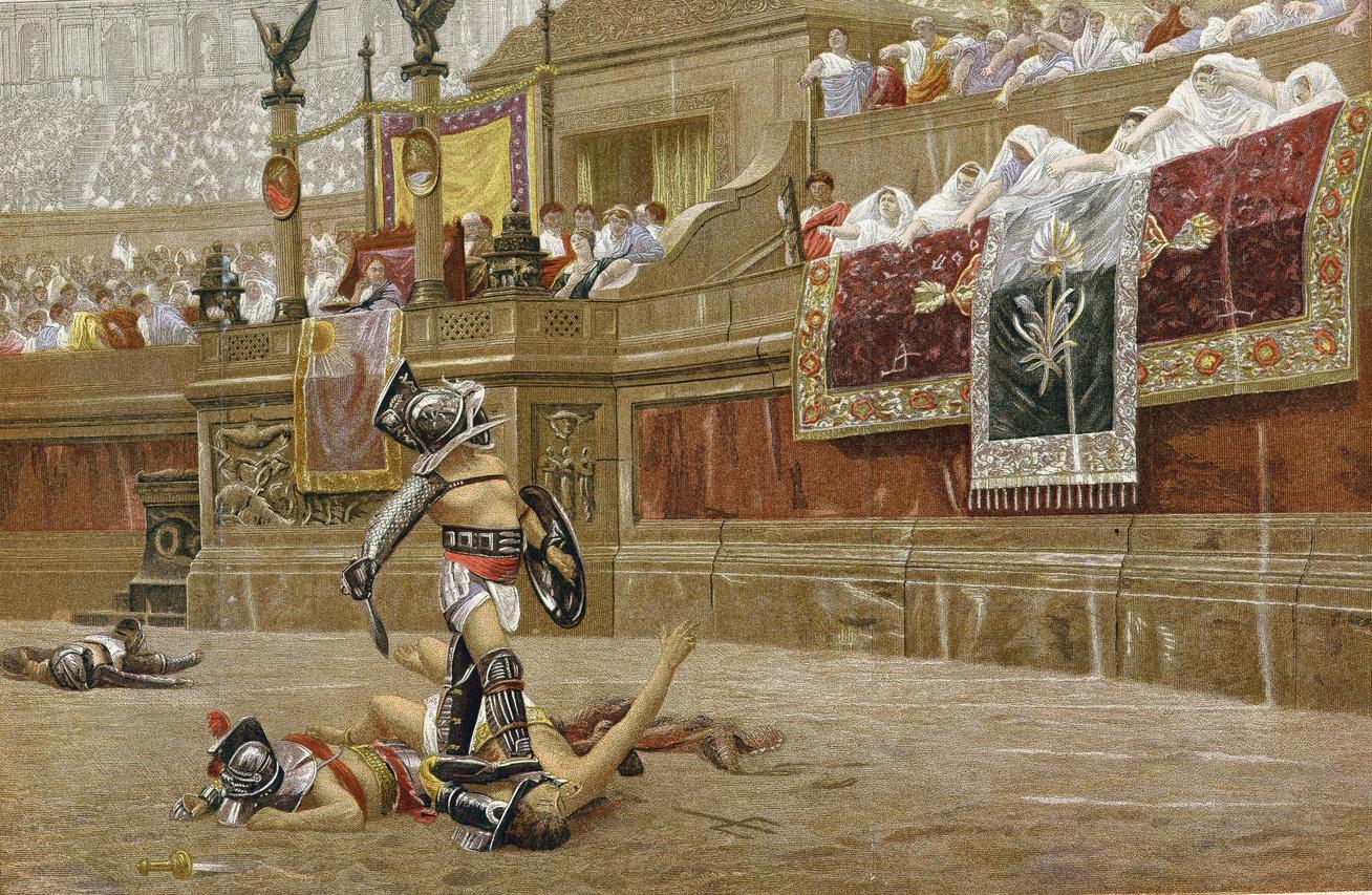 gladiátor-borító