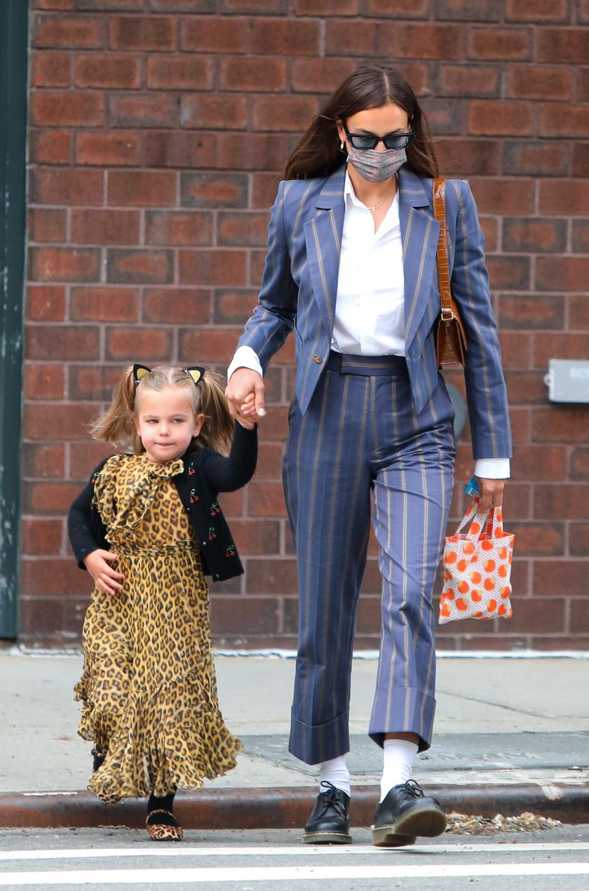 Lea leopárdmintás ruhácskája telitalálat volt szerintünk.
