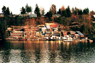 A Xanadu névre keresztelt otthon a Washington államban található Seattle-ben